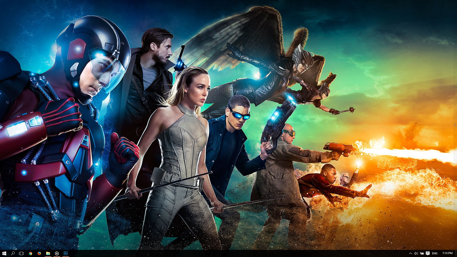 Dc S Legends Of Tomorrow Wallpaper And Background Image: Legends Of Tomorrow Theme For Windows 10
