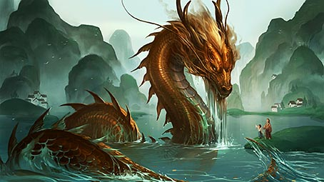 dragon-background