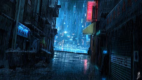 cyberpunk-background