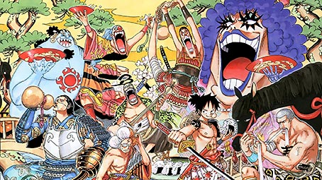 one-piece-color-background