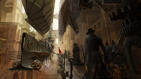 steampunk-background