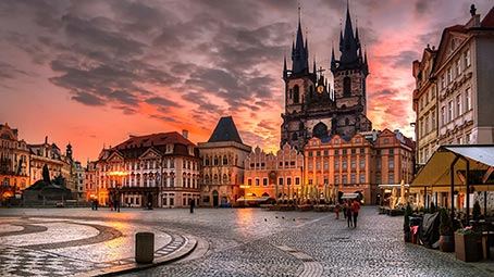 prague-background