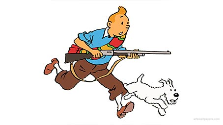 tintin-background