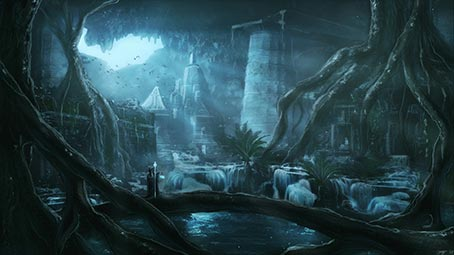 ruins-background