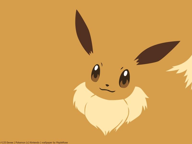 Minimalist Art Of The Super Popular Pokemon Eevee From Pokewalls And All Its Evolutions Namely Flareon Jolteon Vaporeon Espeon Umbreon