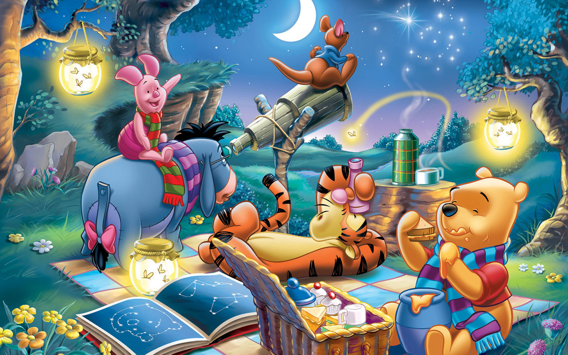 winnie the pooh wallpapers for windows 7
