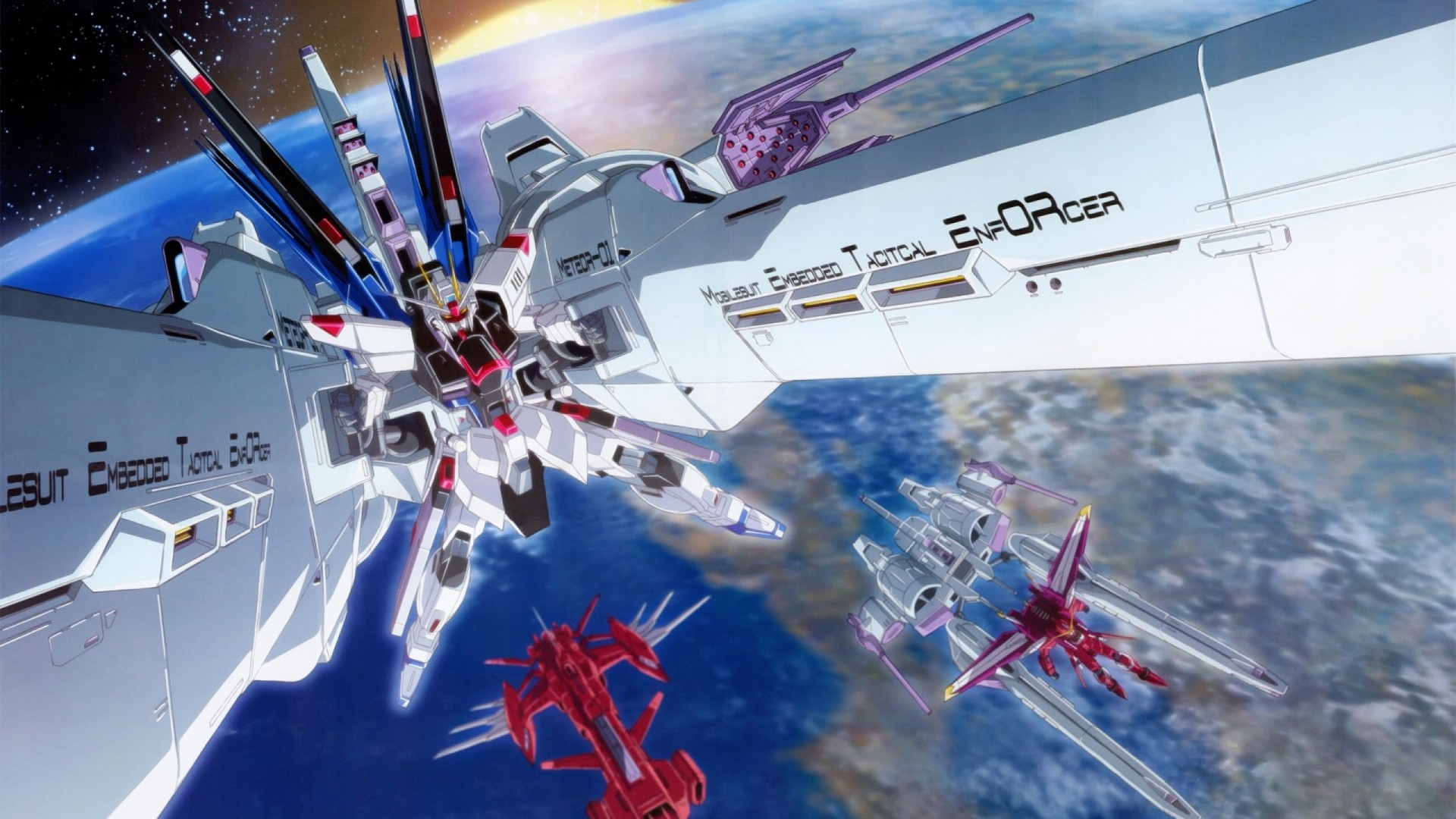 Hd Gundam Themes: Gundam Seed Theme For Windows 10