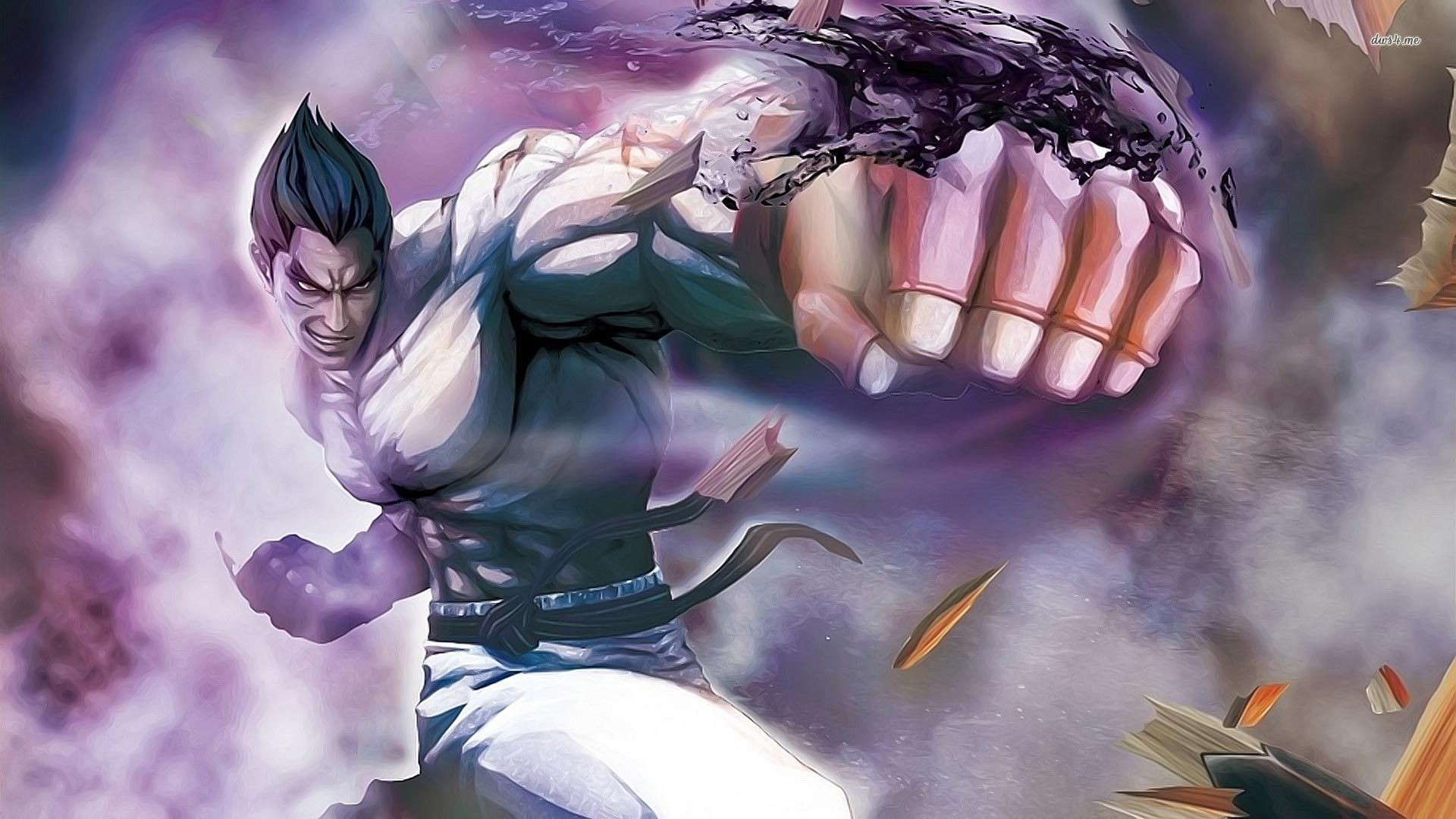 Street Fighter X Tekken Theme For Windows 10 8 7
