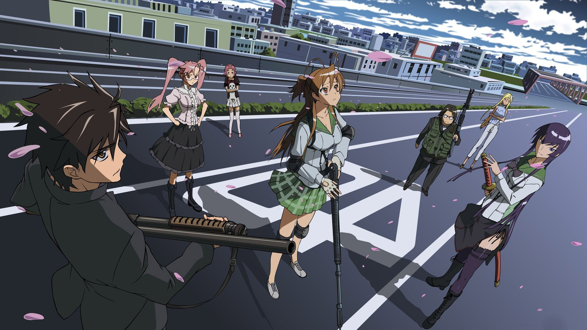 Highschool Of The Dead Theme For Windows 10 8 7