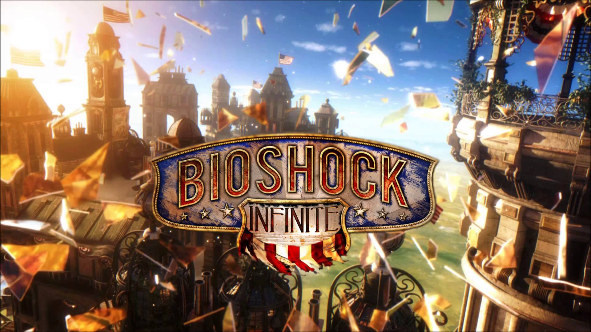 The Third Installment In BioShock Series Bioshock Infinite Starring Booker And Elizabeth Air City Of Colombo Other Characters
