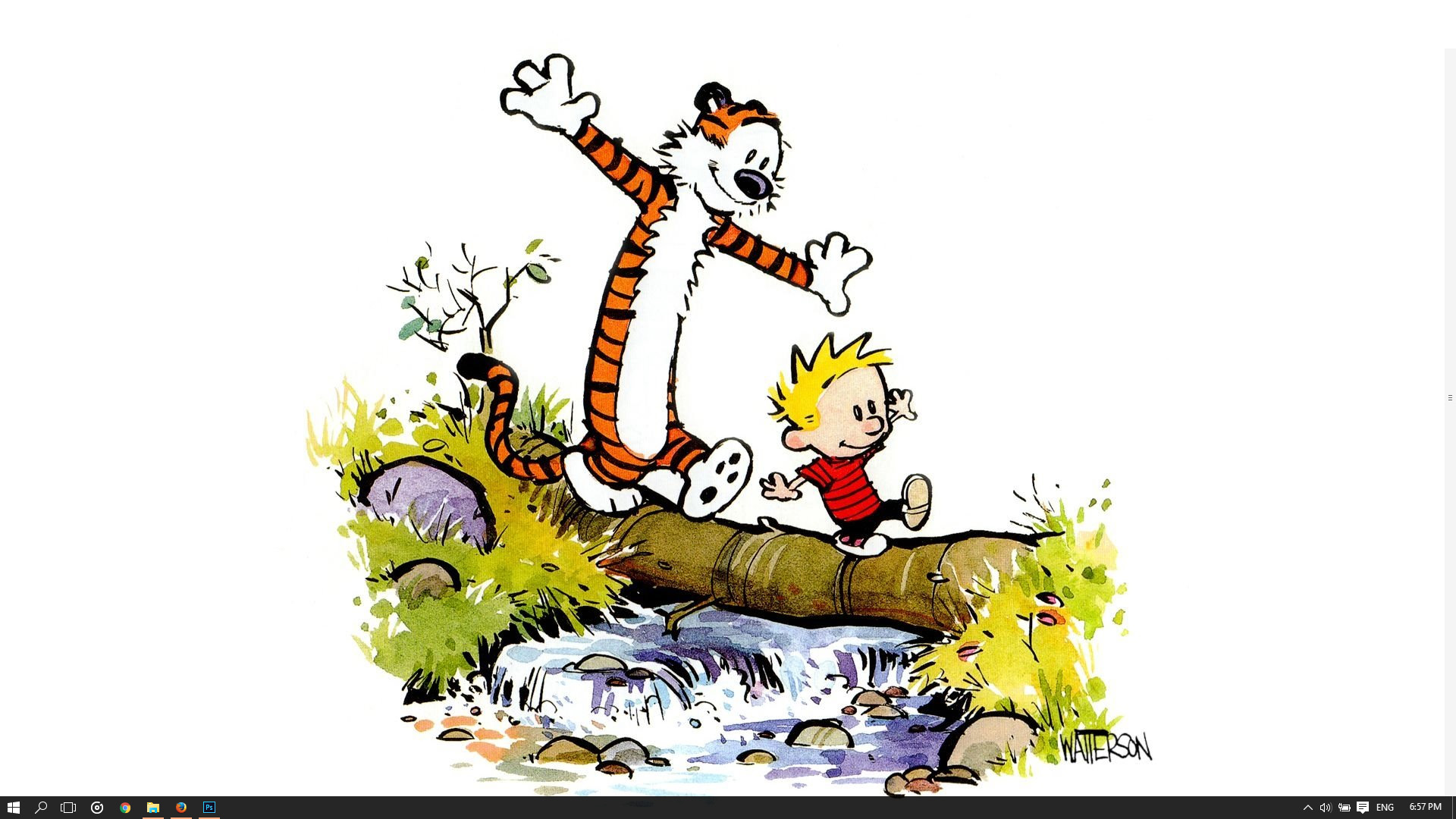 Calvin And Hobbes Theme For Windows 10 8 7
