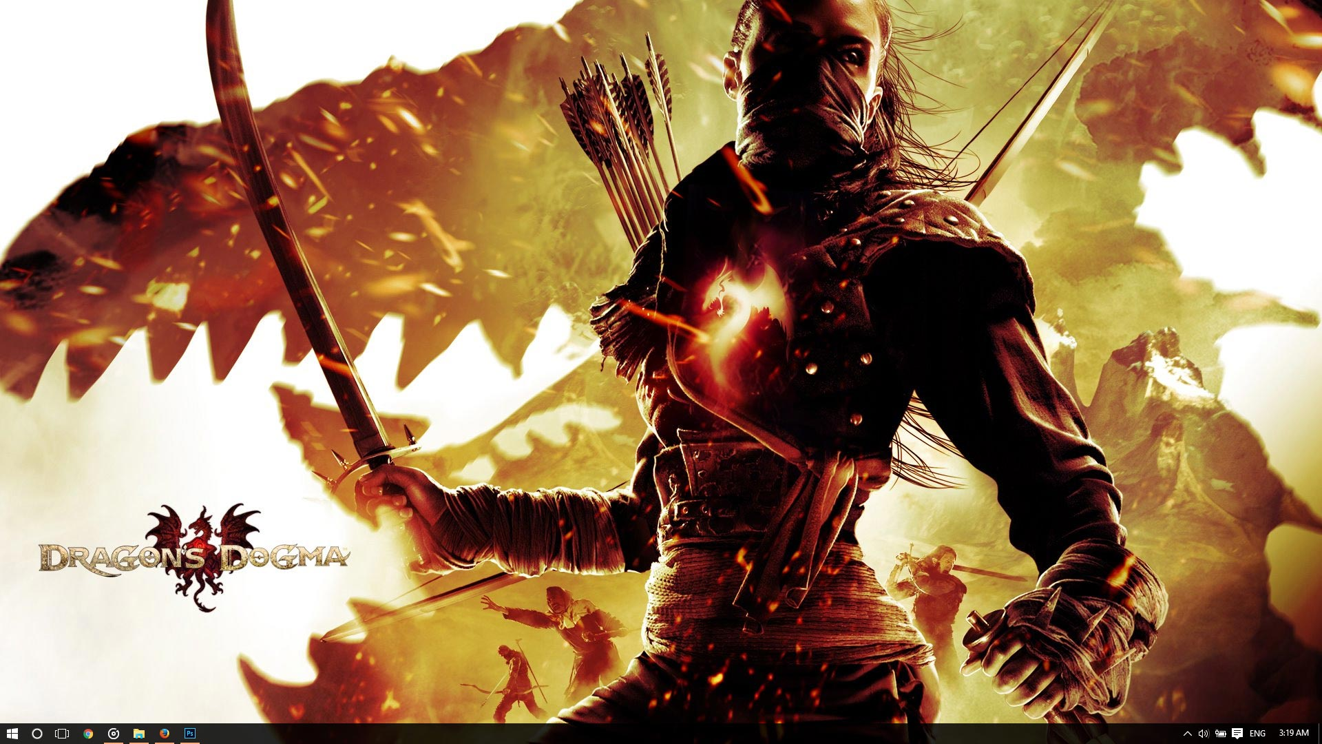 Dragon S Dogma Theme For Windows 10 8 7