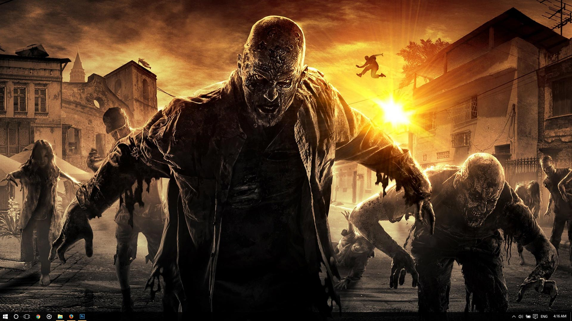 Dying Light Theme For Windows 10 8 7