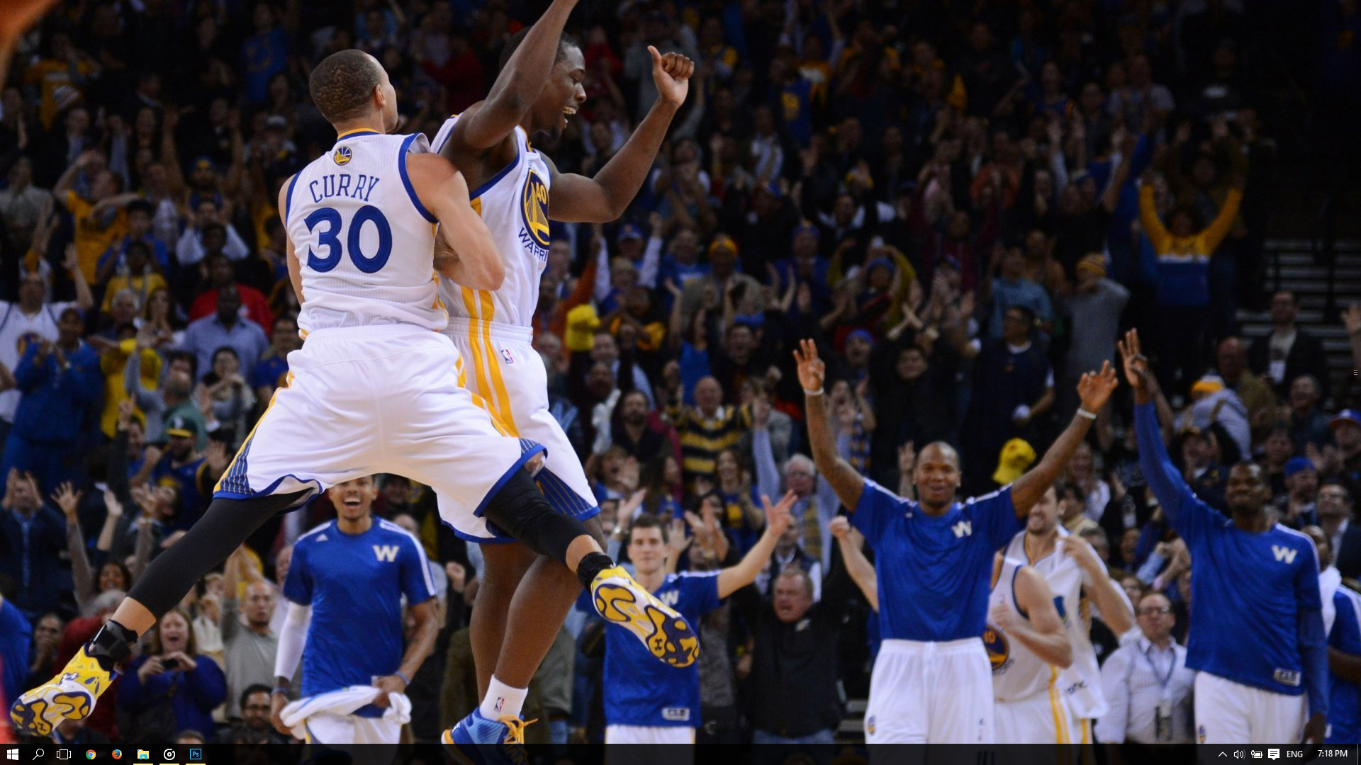 Golden State Warriors Theme For Windows 10 8 7