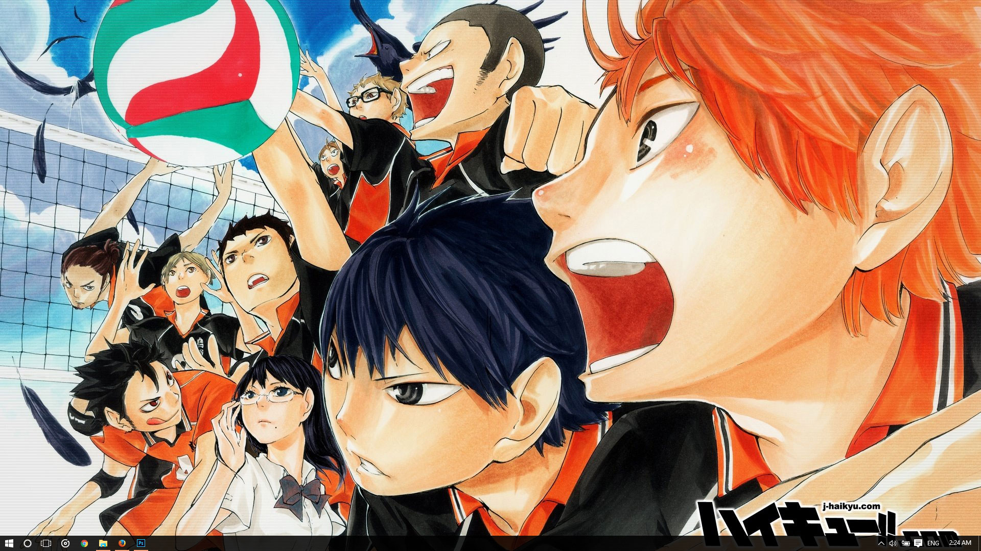 Haikyuu Theme For Windows 10 8 7