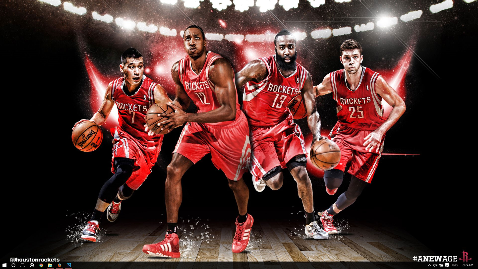 Houston Rockets Theme For Windows 10 8 7