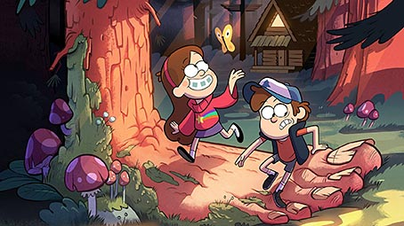 gravity-falls-background