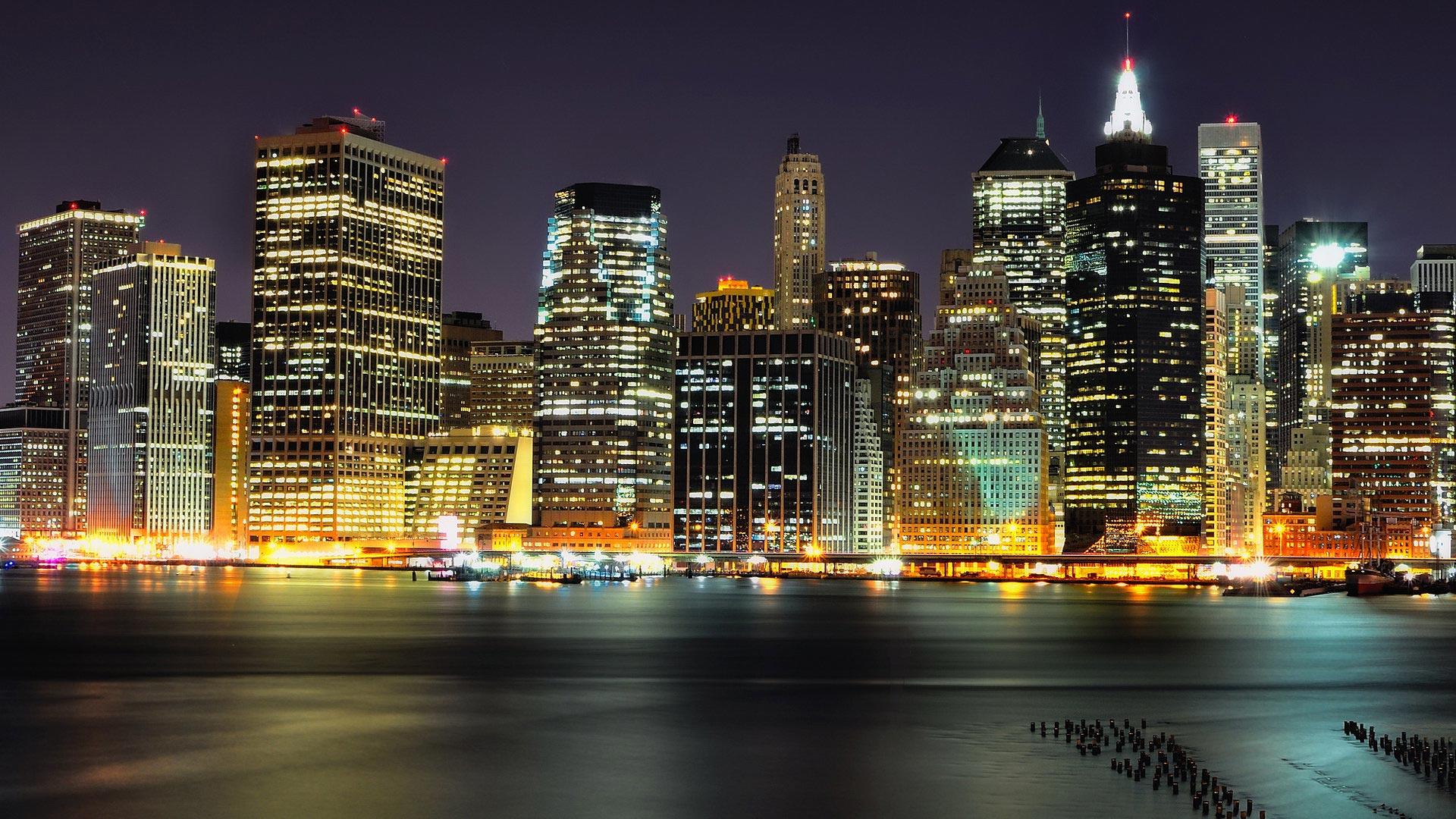 City Lights Theme For Windows 10 8 7