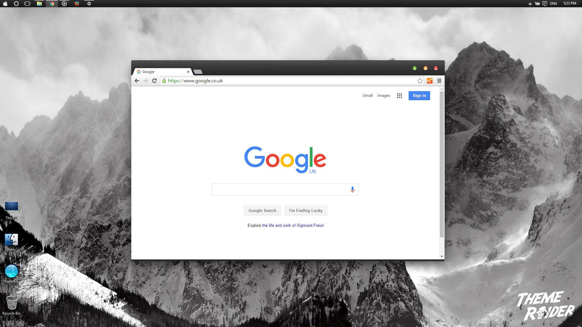 Google themes leopard - Apple S