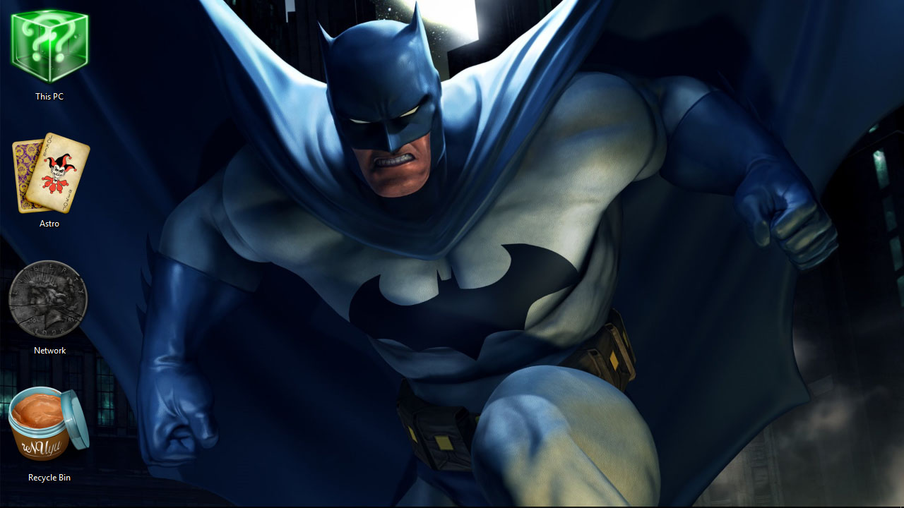 Batman Theme for Windows 10 | 8 | 7