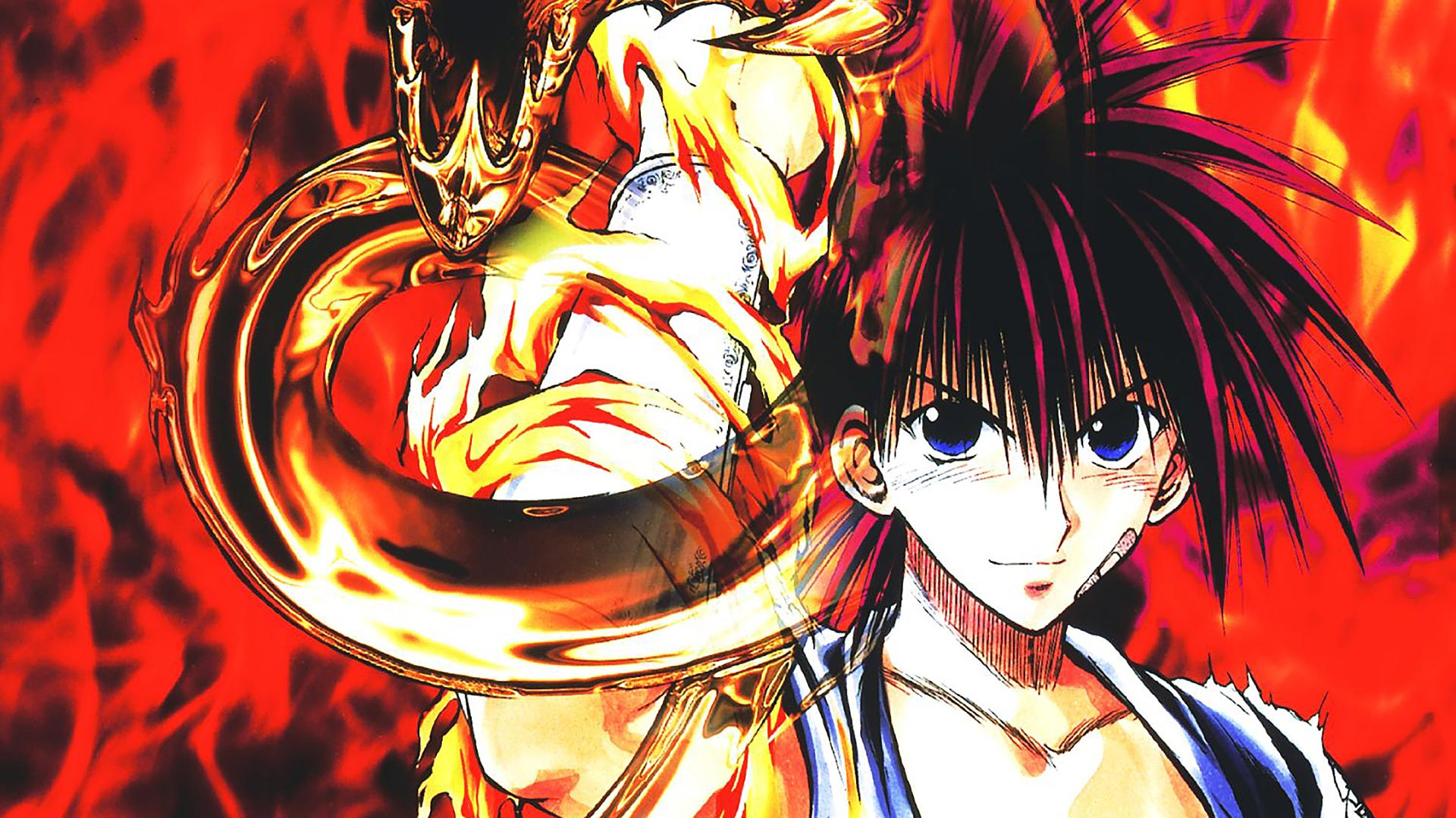 Flame Of Recca Theme For Windows 10