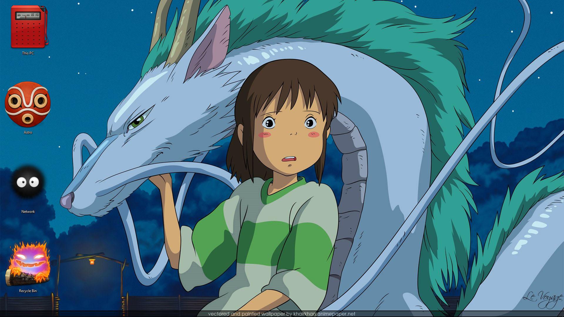 Studio Ghibli Theme For Windows 10 8 7