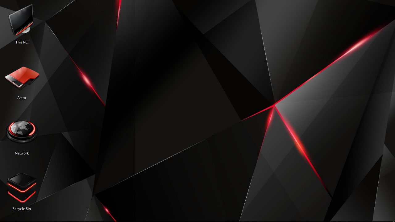 Red Theme For Windows 10 8 7