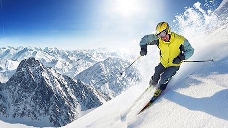 Skiing Theme For Windows 10 8 7