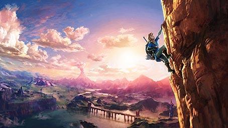 Zelda Breath Background on Windows 10 Color Scheme