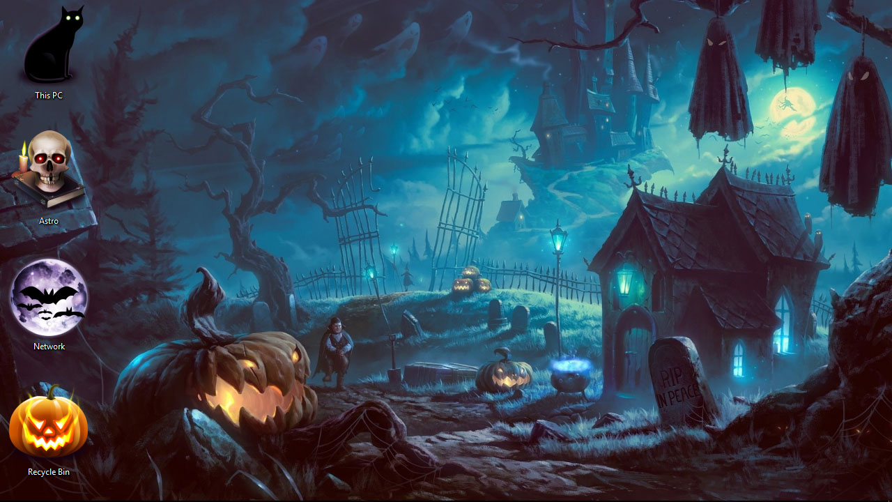 halloween theme for windows 10 8 7