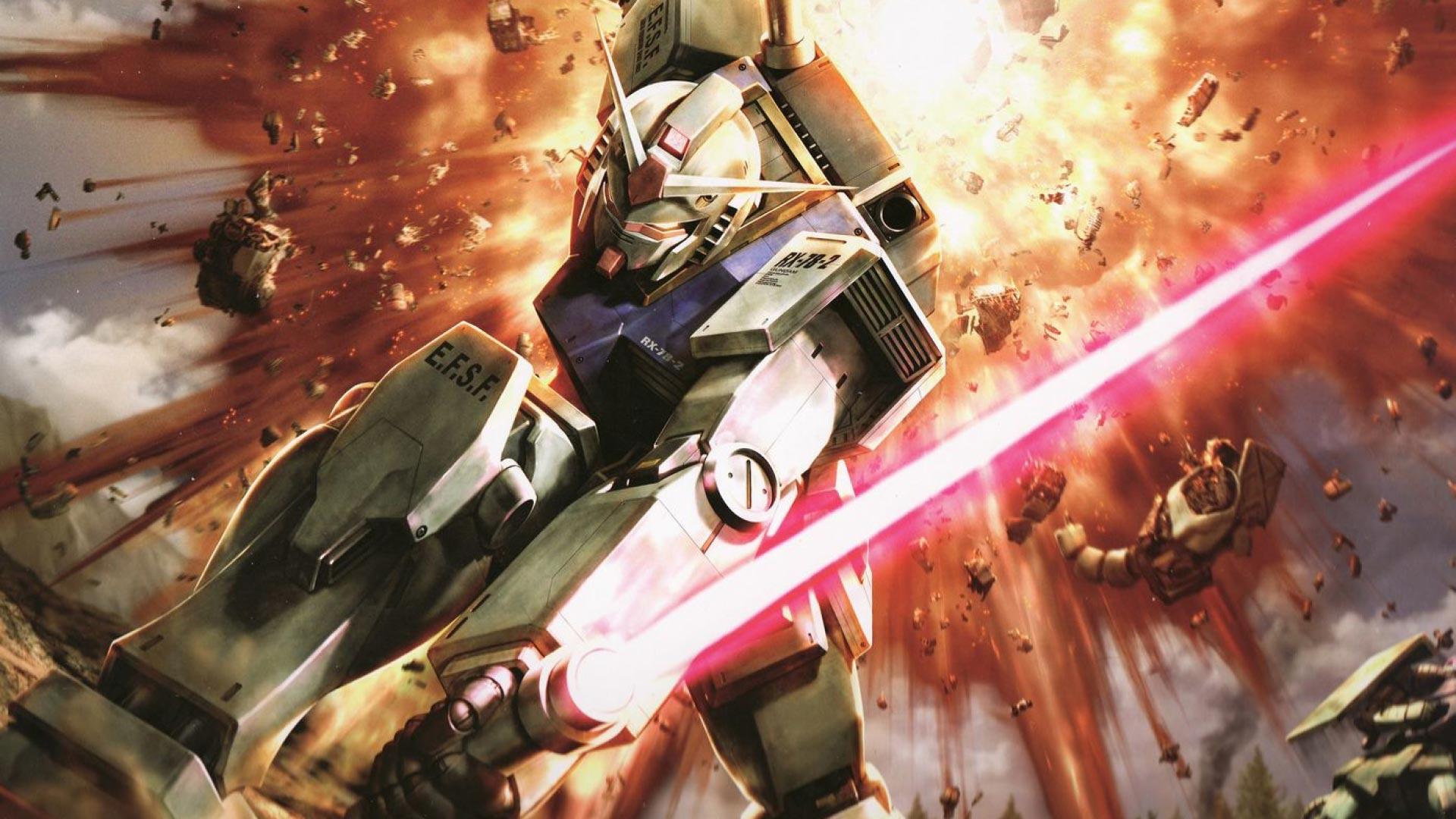 Ultimate Gundam Mecha Theme For Windows 10 8 7