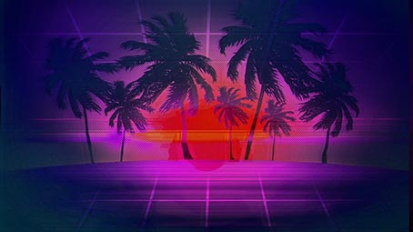 synthwave-background