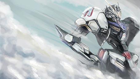 Gundam iron blooded orphans theme for windows 10 8 7 gundam iron orphans background voltagebd Gallery