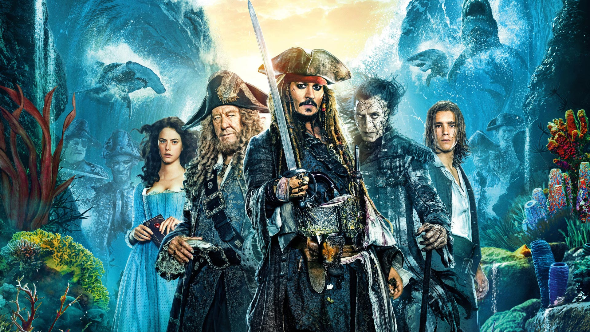 Pirates Of The Caribbean 5 Theme For Windows 10 8 7