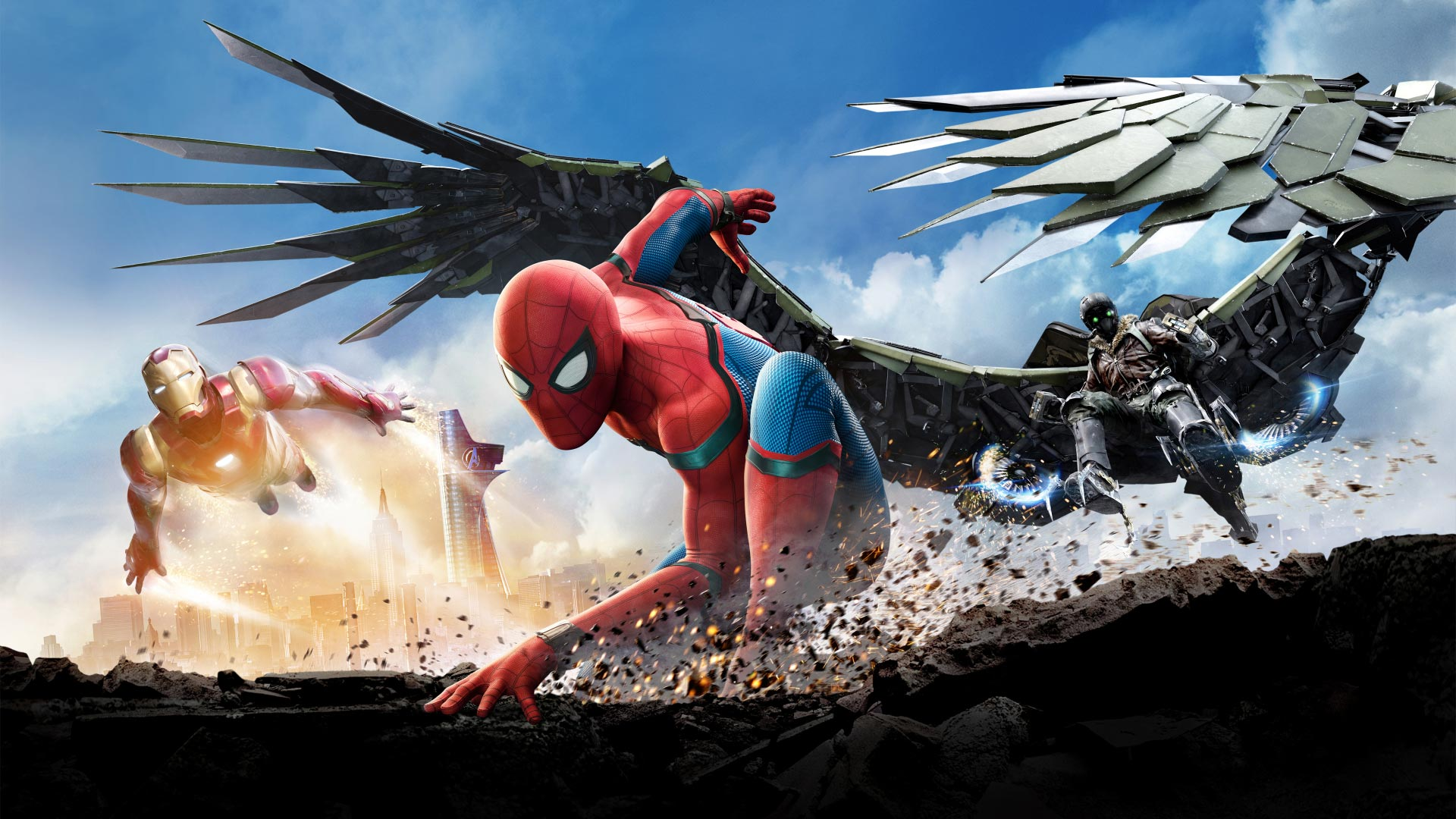Spider-Man: Homecoming Theme for Windows 10 | 8 | 7