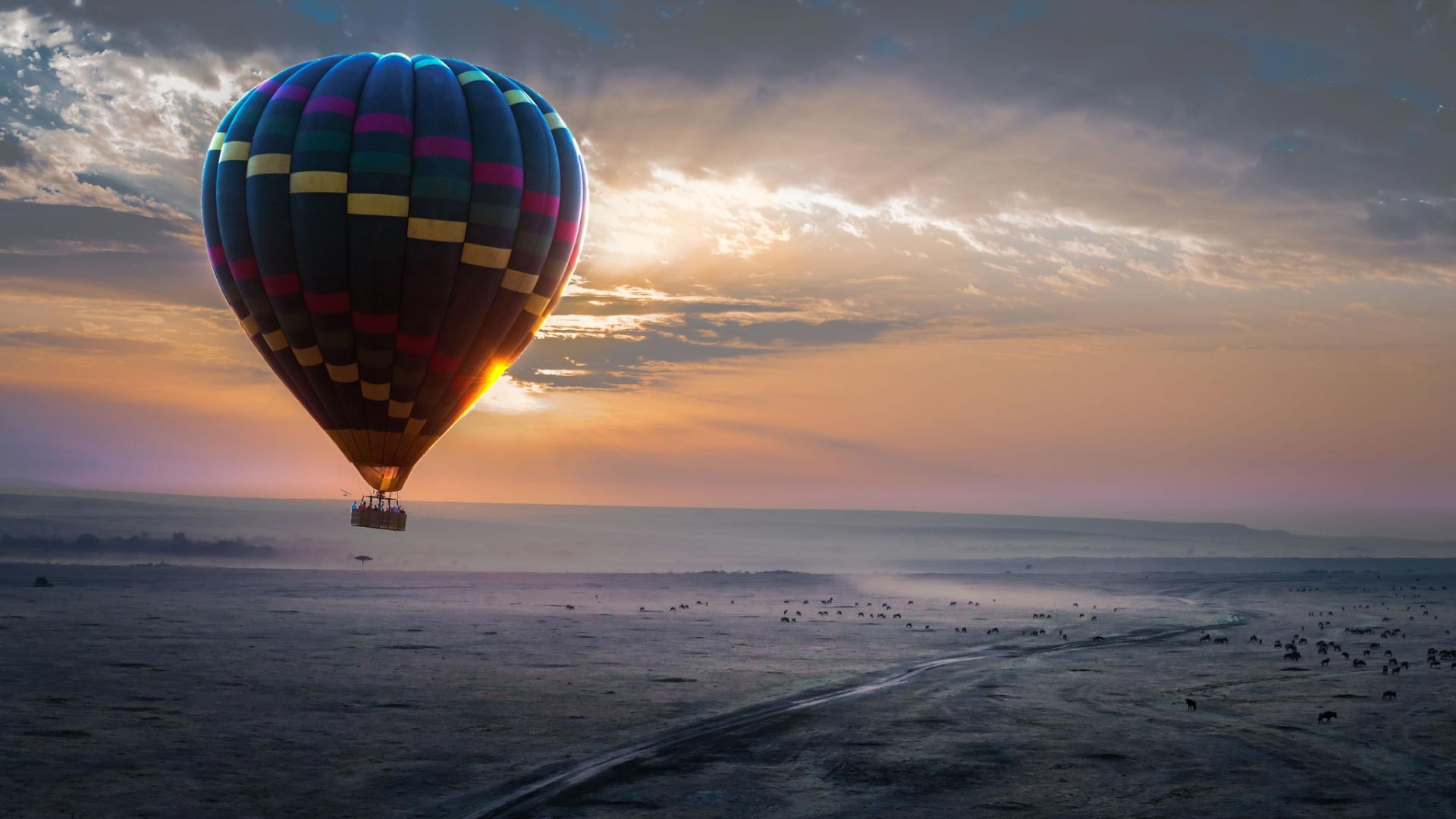 Hot Air Balloon Theme For Windows 10 8 7