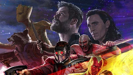 Avengers: Infinity War Theme for Windows 10 | 8 | 7