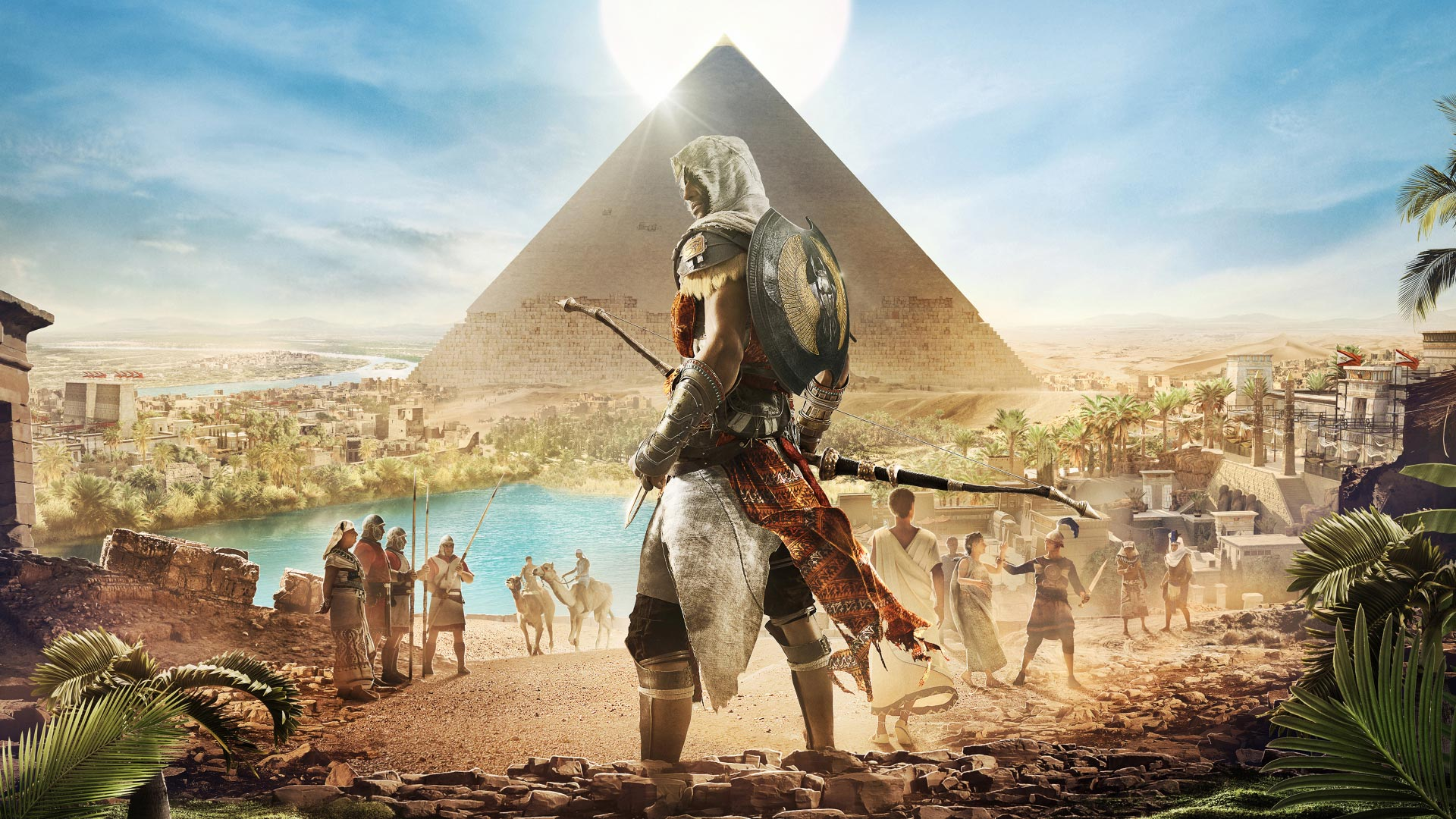 Assassin S Creed Origins Theme For Windows 10 8 7